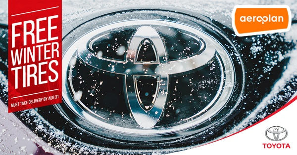 FREE Winter Tires on New Toyotas