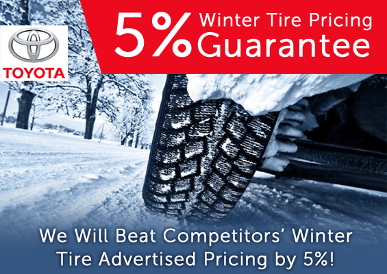 5% Winter Tire Price Guarantee!