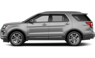 2018 Ford Explorer - XLT 4dr 4x4