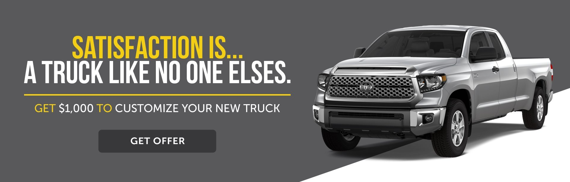 Customize your truck