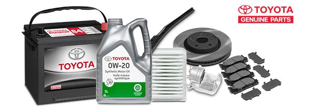 Toyota Genuine Parts options