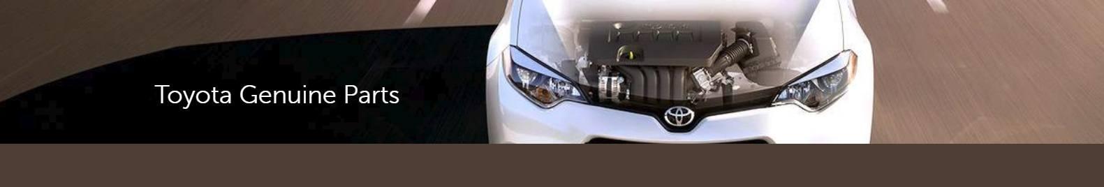 Toyota Genuine Parts Header