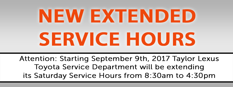 New Service Hours