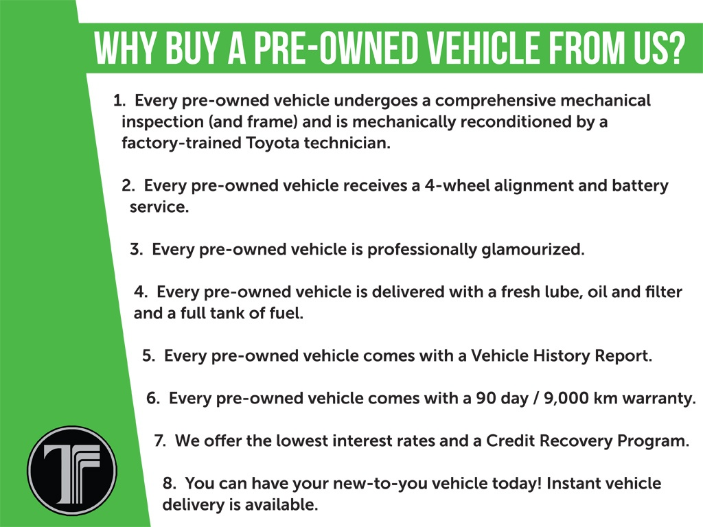 Why Buy from Us - Preowned