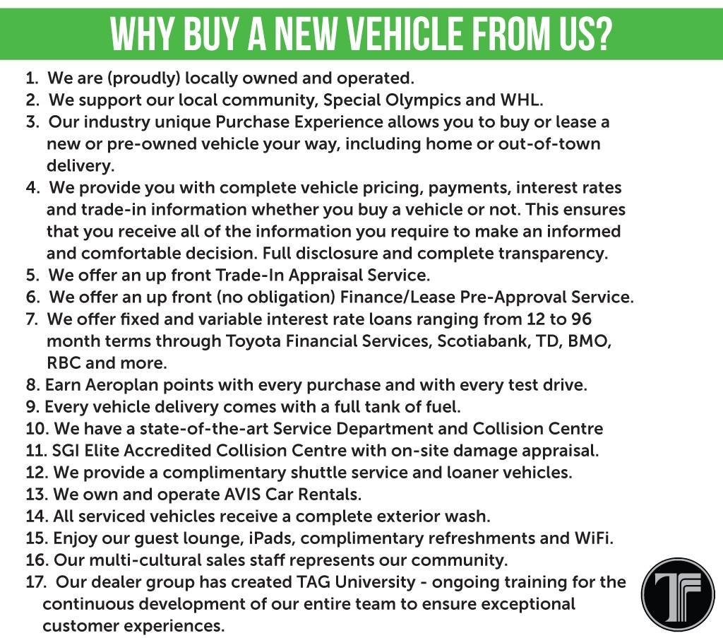 Why Buy from Us - New Vehicle