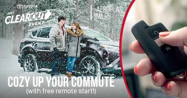 FREE Remote Starter!