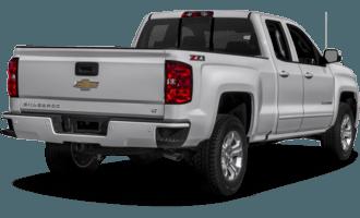 2018 Chevrolet Silverado 1500 1LT 4x2 Double Cab