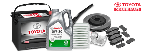Toyota Genuine Parts options