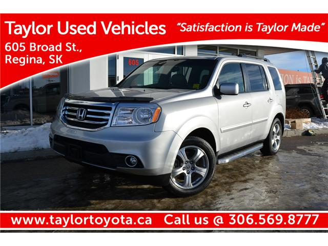 '15 Honda Pilot EXL Family Friendly & Capable