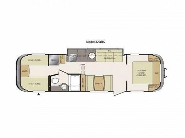Vantage 32QBS floorplan