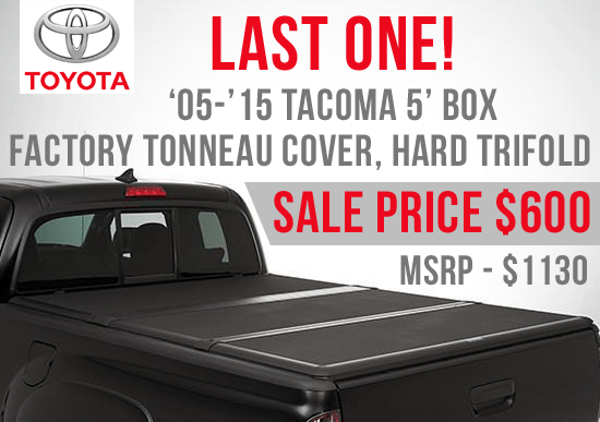 Last One – Tacoma Hard Tri-Fold Cover