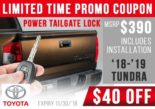 Power Tailgate Lock $40 Off – Installation Included!