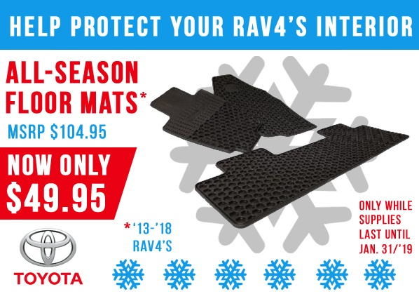 RAV4 All-Season Mats on Sale!