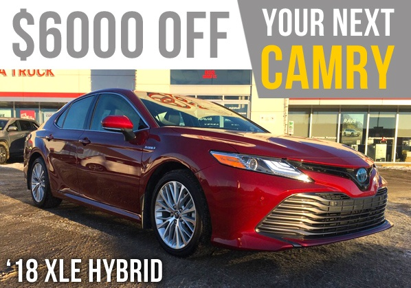 Your New Camry Is Here!