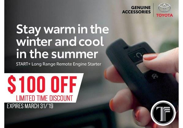 Remote Starter Discount