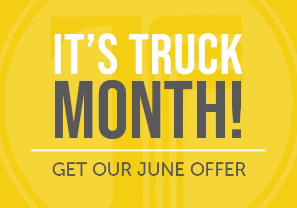 It's Truck Month!