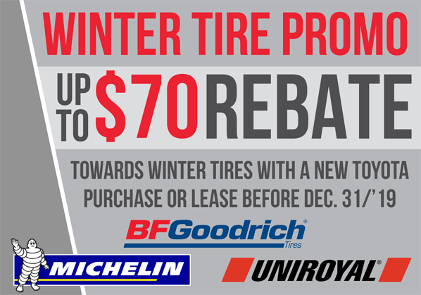 Winter Tire Rebate!