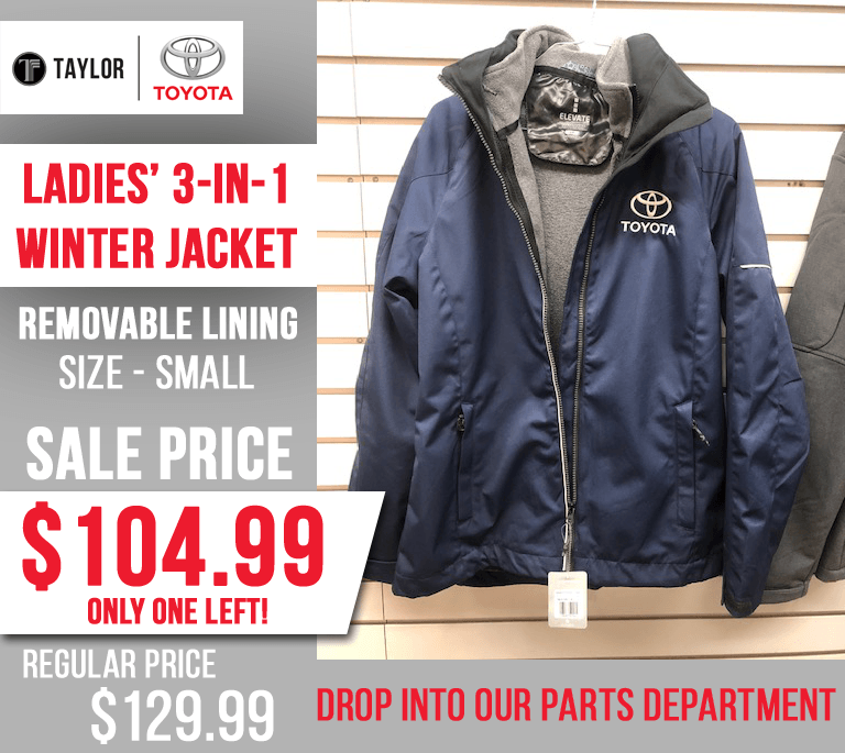 Ladies 3 in 1 Jacket – Last One – Save Now!