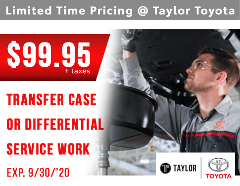 Transfer Case Or Differential Servicing