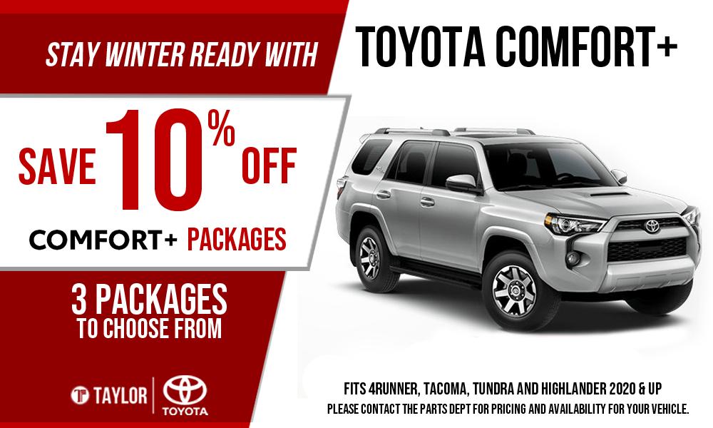 Toyota COMFORT+