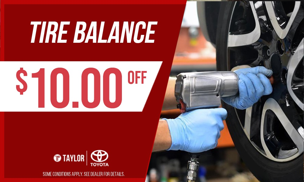 Tire Balance Special