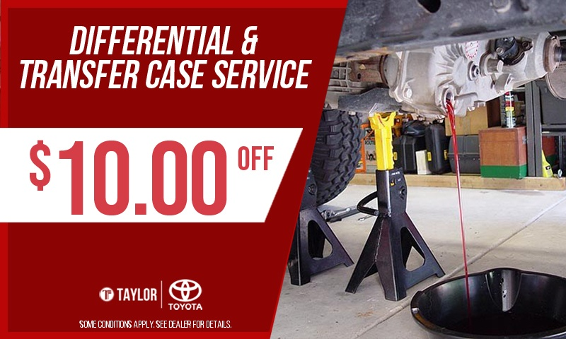 Differential and Transfer Case Service