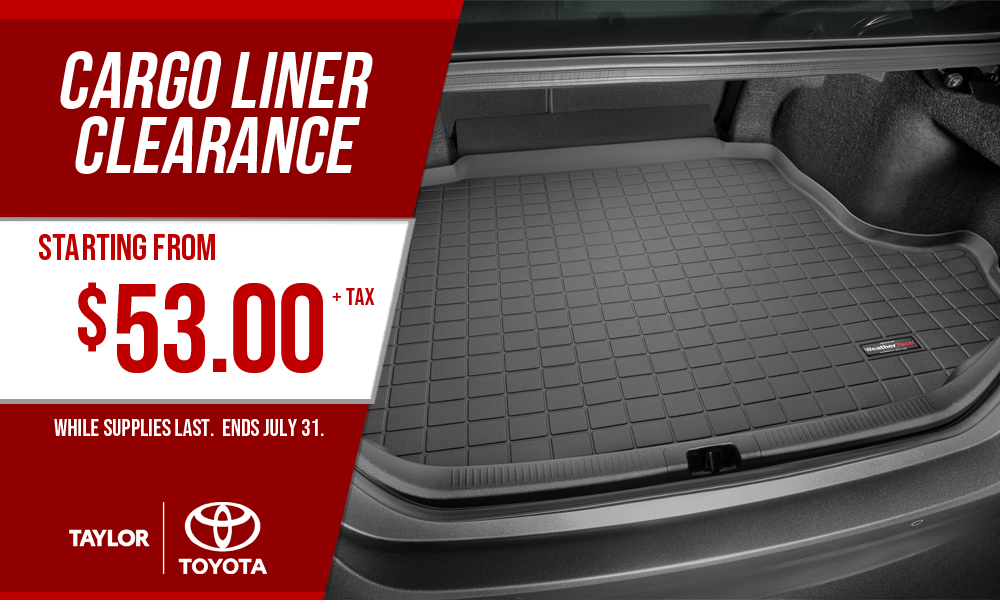 Cargo Liner Clearance